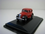 Morris Eight E Series Saloon Red Black 1:76 Oxford